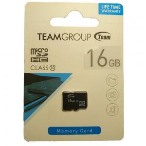 Карта памяти Team microSDHC, 16Gb, Class10, без адаптера