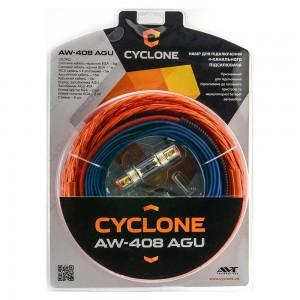 Набор для подключения усилителя Cyclone AW-408 AGU