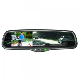 Зеркало заднего вида Prime-X 043/101 (на штатном креплении) с функцией автозатемнения